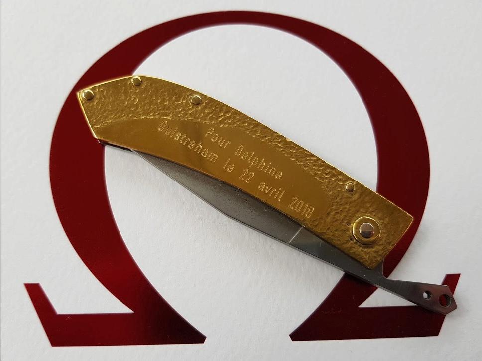 Personnalisez vous vos couteaux ? Nouve221