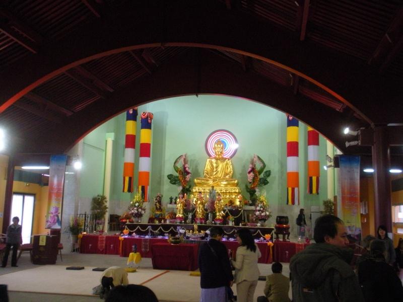 Commémoration du Wesak 2010 à la Pagode KHANH ANH d'Evry Pagode22