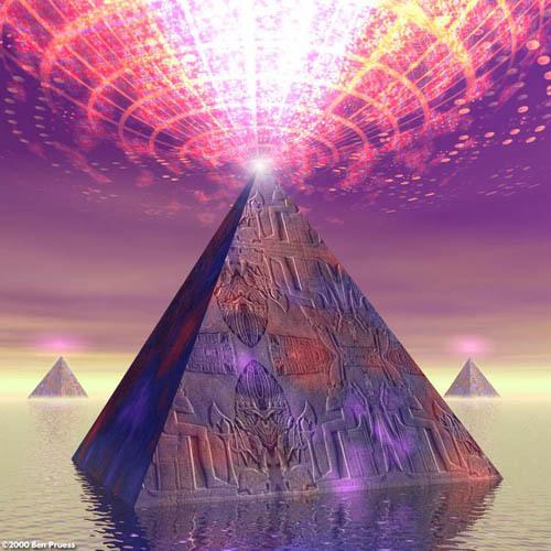 "Tirage de Carte selon la méthode de la ""Pyramide"" Pyrami10"