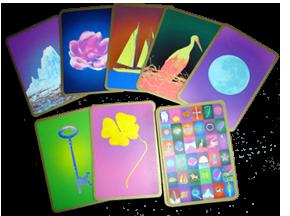 Les Cartes  Divinatoires de Melle Lenormand Selon Titania Hardie Tfc-re10