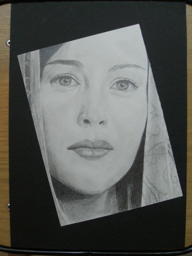 Dessin/portrait de vous ou votre cheval Arwen11
