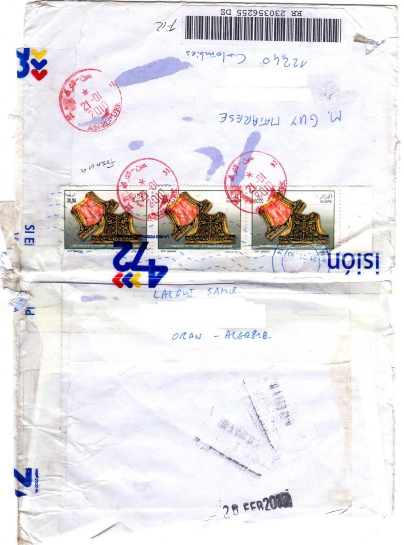 lettre ayant voyagé(loin)avant d'arriver à son destinataire Samir_10