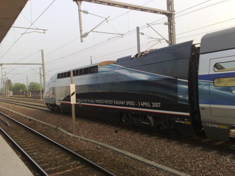 Commuting in Chelles 10052011