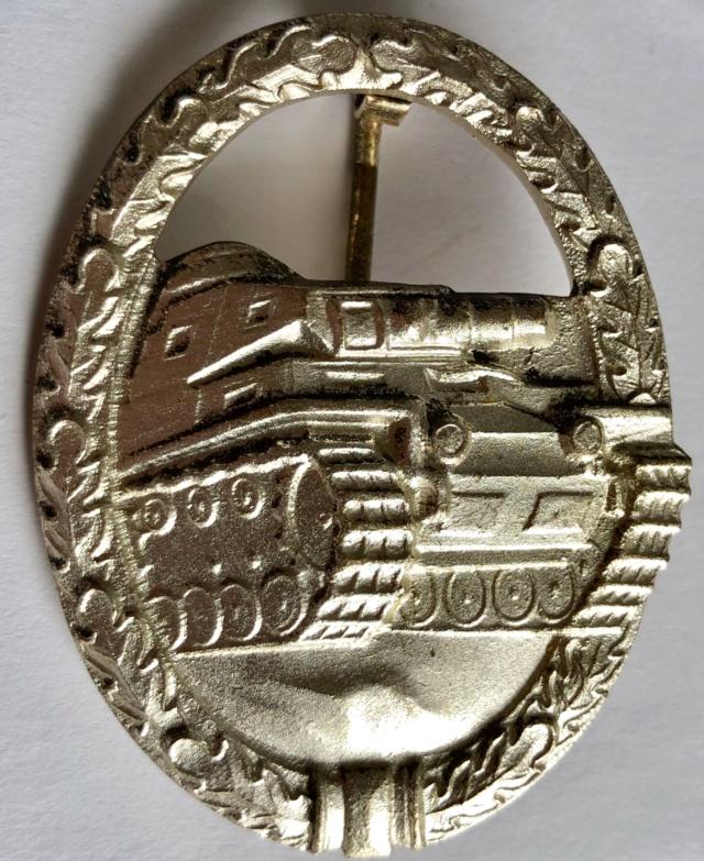 Panzerkampfabzeichen in Silber Model 1957 10853810