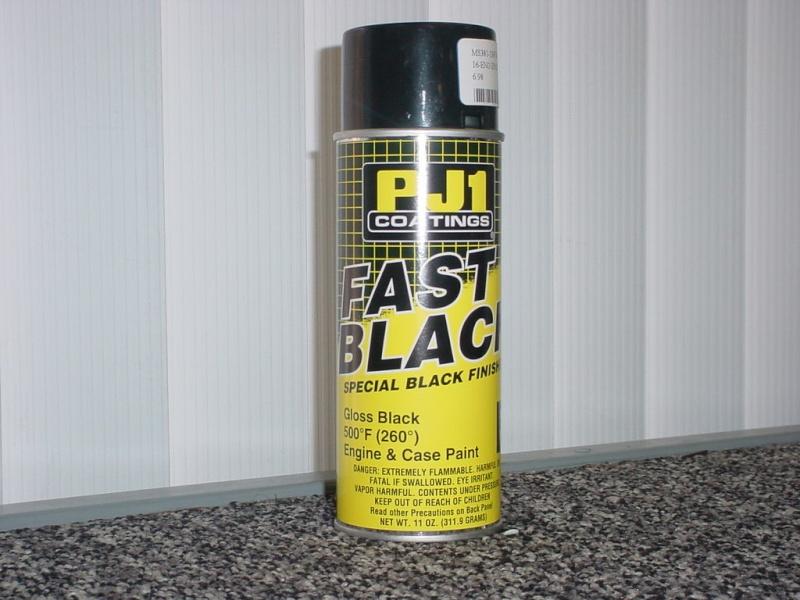 PEINTURE MOTEUR from GREAT BRITAIN    PJ1 FAST BLACK Pj1_fa10