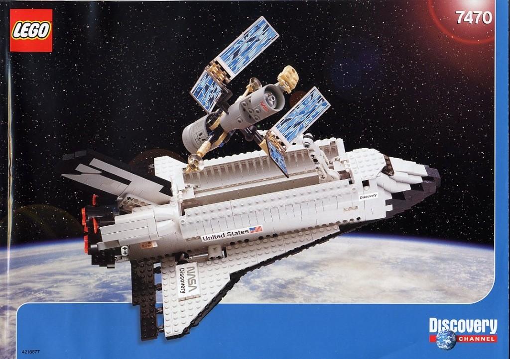 Navette en LEGO - Page 2 7470-l10