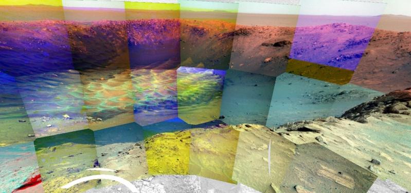 Opportunity va explorer le cratère Endeavour - Page 10 Image217