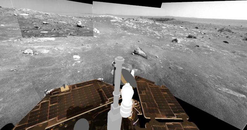 Opportunity va explorer le cratère Endeavour - Page 10 Image413