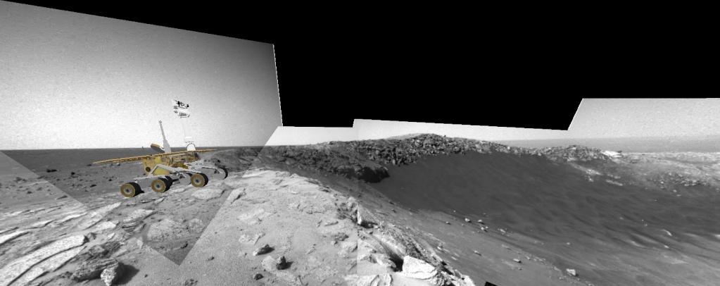 Opportunity va explorer le cratère Endeavour - Page 10 Image414