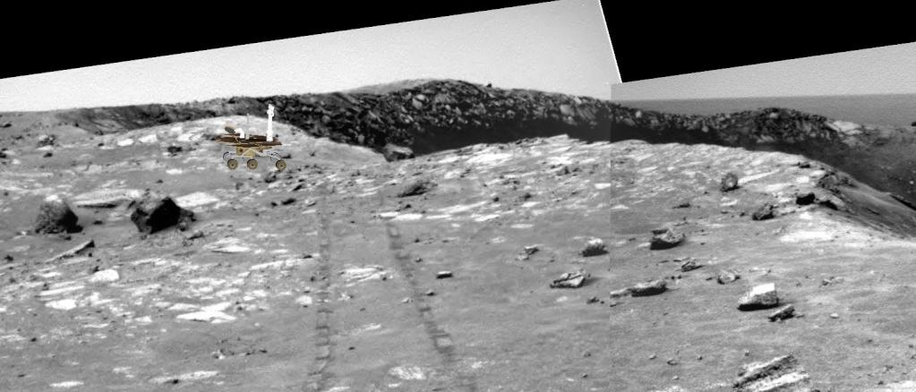 Opportunity va explorer le cratère Endeavour - Page 10 Image611