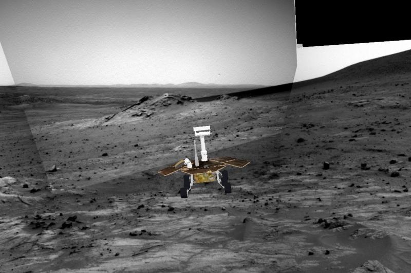 """Spirit découvre un """"nid"""" de carbonates sur Mars Spirit15"""