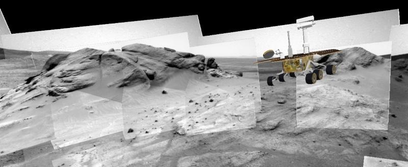 """Spirit découvre un """"nid"""" de carbonates sur Mars Spirit16"""