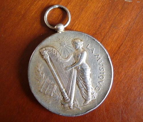 """Médaille """"Ville de La Ciotat"""" 1908 P1390912"""
