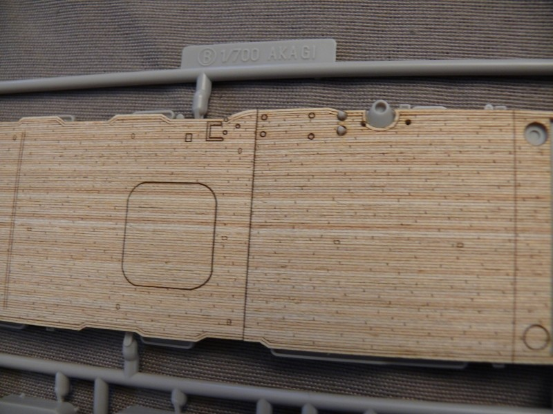 IJN AKAGI 1/700 Fujimi (nouveau moule) B410