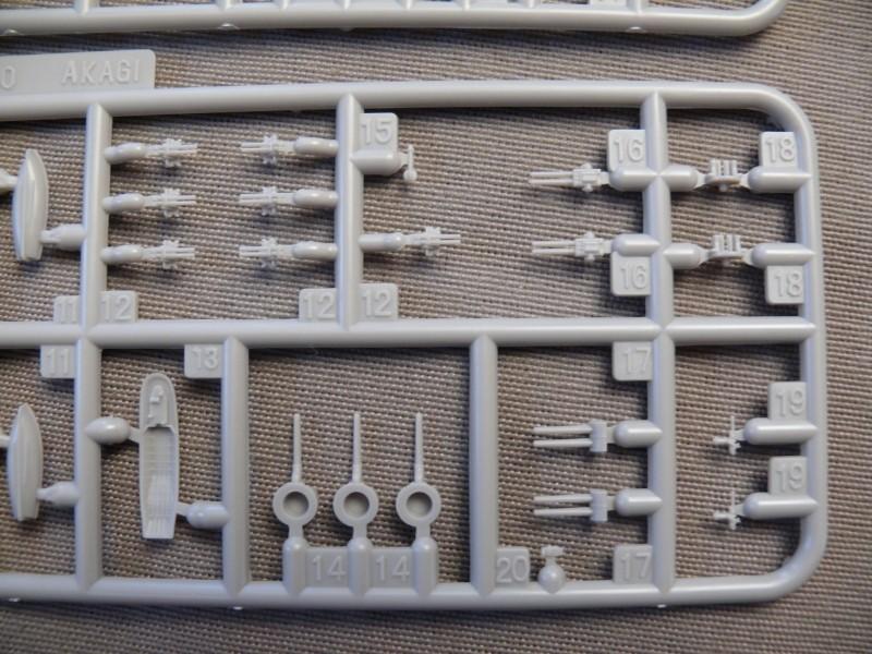 IJN AKAGI 1/700 Fujimi (nouveau moule) L210