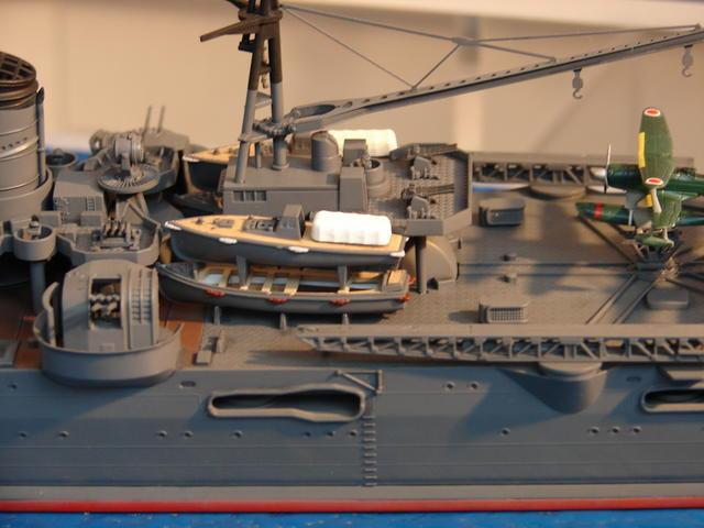 Le MOGAMI : Croiseur Japonais transporteur d'hydravions au 700ème Mogami14