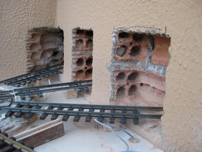 Construcció d'una rotonda i el seu pont giratori-(FFCC de la Terrassa) A12