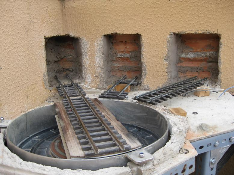Construcció d'una rotonda i el seu pont giratori-(FFCC de la Terrassa) A_311
