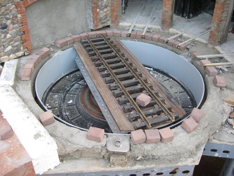 Construcció d'una rotonda i el seu pont giratori-(FFCC de la Terrassa) A_412