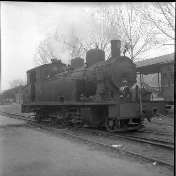 El tren d'Olot-Girona Fc110