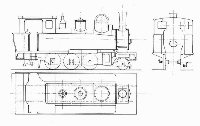 les 5 màquines St Léonard del tren d'Olot (FFCC de la Terrassa) Loc_st10