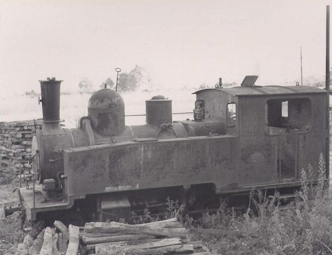 les 5 màquines St Léonard del tren d'Olot (FFCC de la Terrassa) X10