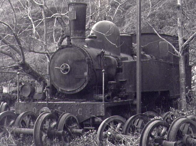 les 5 màquines St Léonard del tren d'Olot (FFCC de la Terrassa) X_110