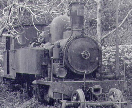 les 5 màquines St Léonard del tren d'Olot (FFCC de la Terrassa) X_310