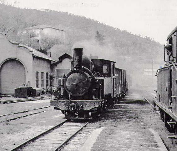 les 5 màquines St Léonard del tren d'Olot (FFCC de la Terrassa) X_610