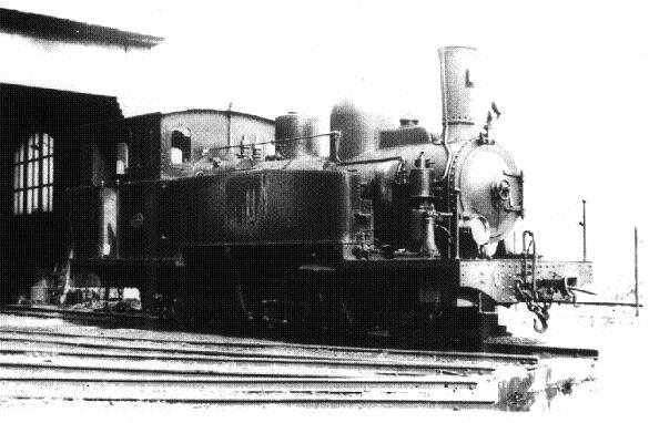 les 5 màquines St Léonard del tren d'Olot (FFCC de la Terrassa) X_810
