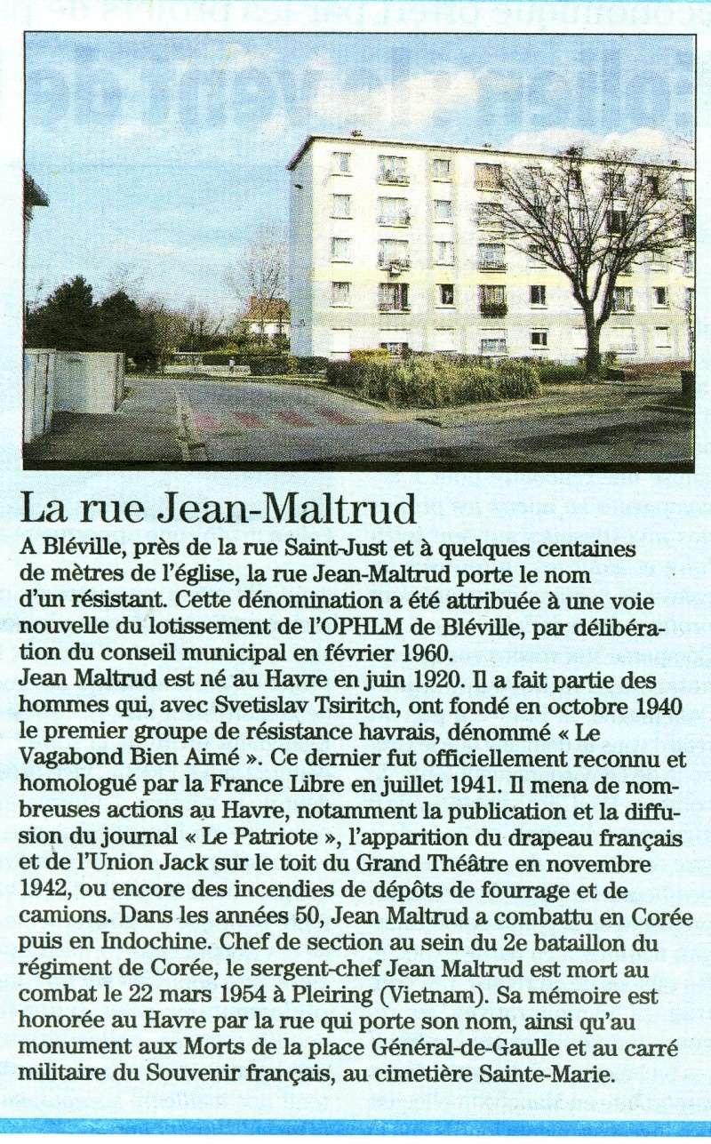 bléville - Bléville - Rue Jean Maltrud 2010-019