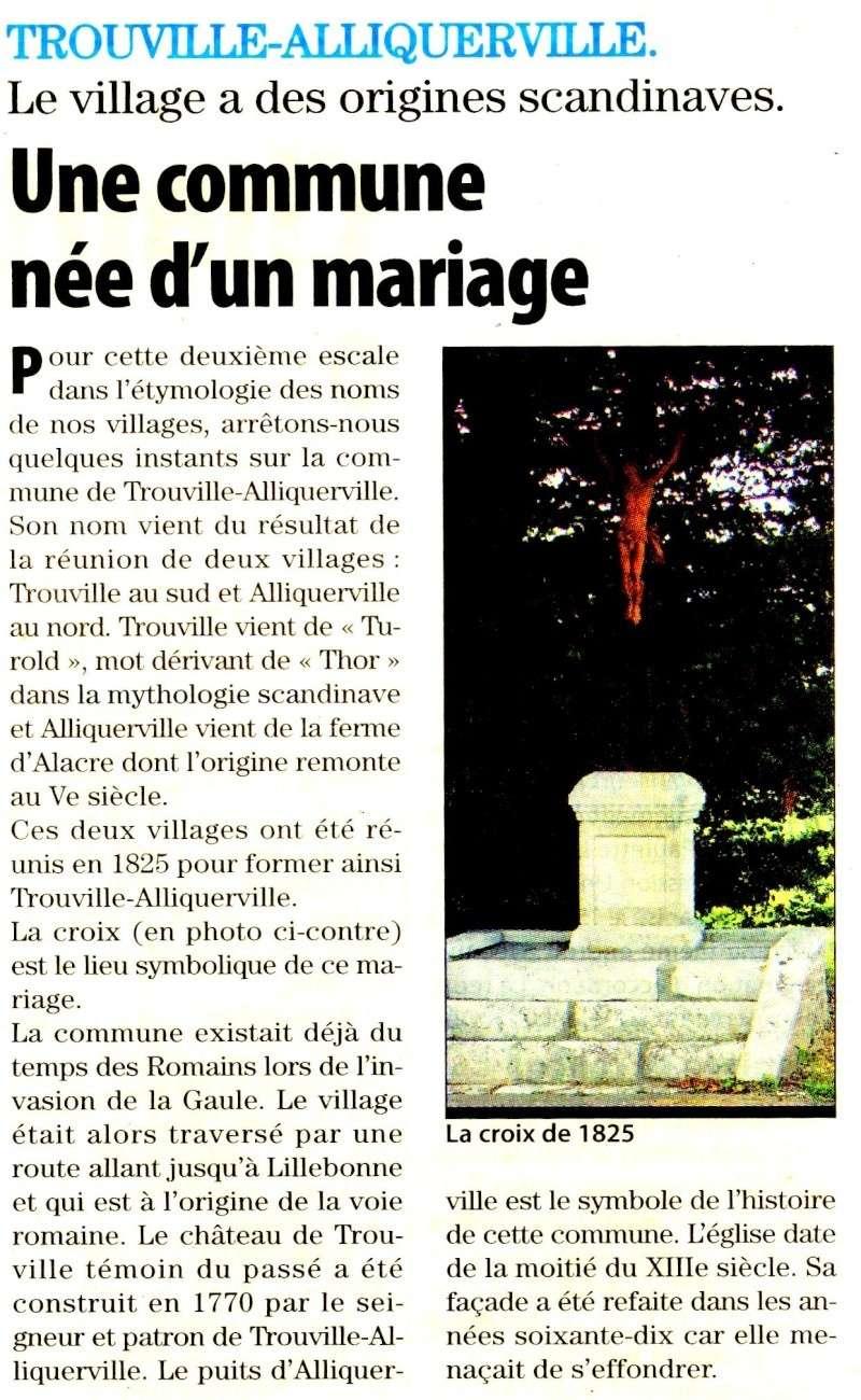 Trouville-Alliquerville - Une commune née d'un mariage 2010-026