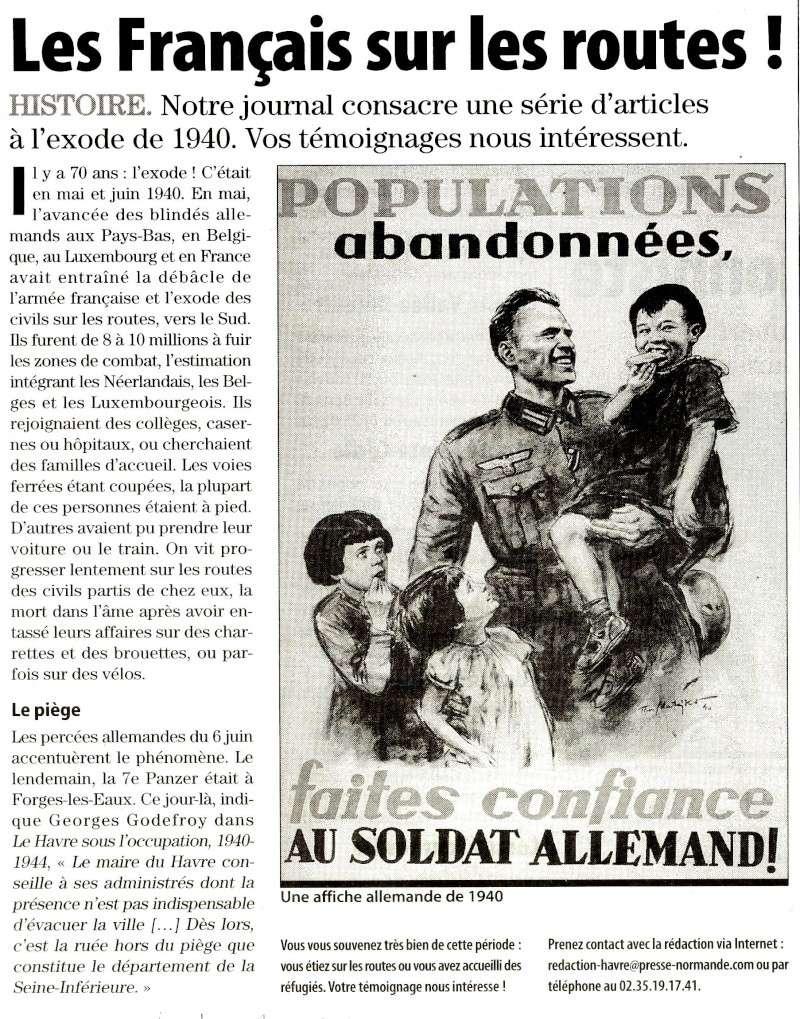 Exode de 1940 - Les Français sur les routes 2010-040