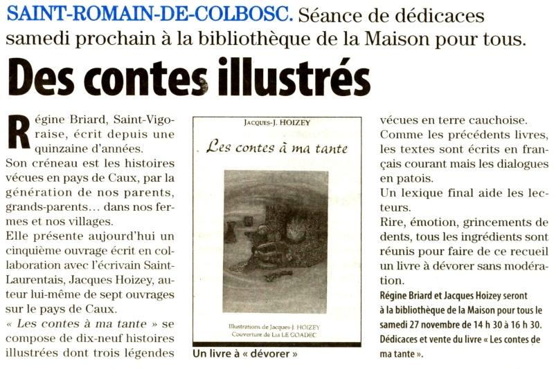 St-Romain - Briard et Hoisey : Les contes à ma tante 2010-112