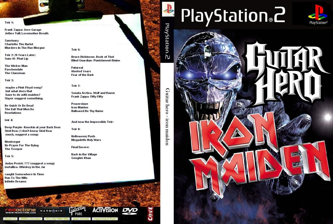 Guitar Hero 2: Iron Maiden Hack (NTSC-U) Cover_10