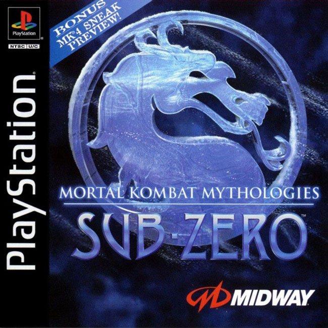 Mortal Kombat Mythologies: Sub Zero (NTSC-U) Fronta10