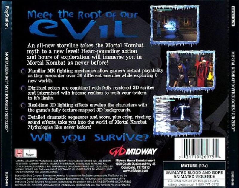 Mortal Kombat Mythologies: Sub Zero (NTSC-U) Traser10