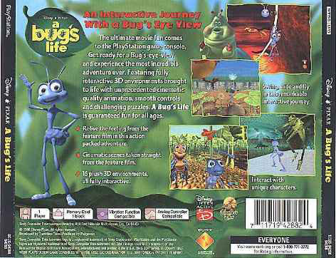 A Bug's Life (NTSC/U) Traser13