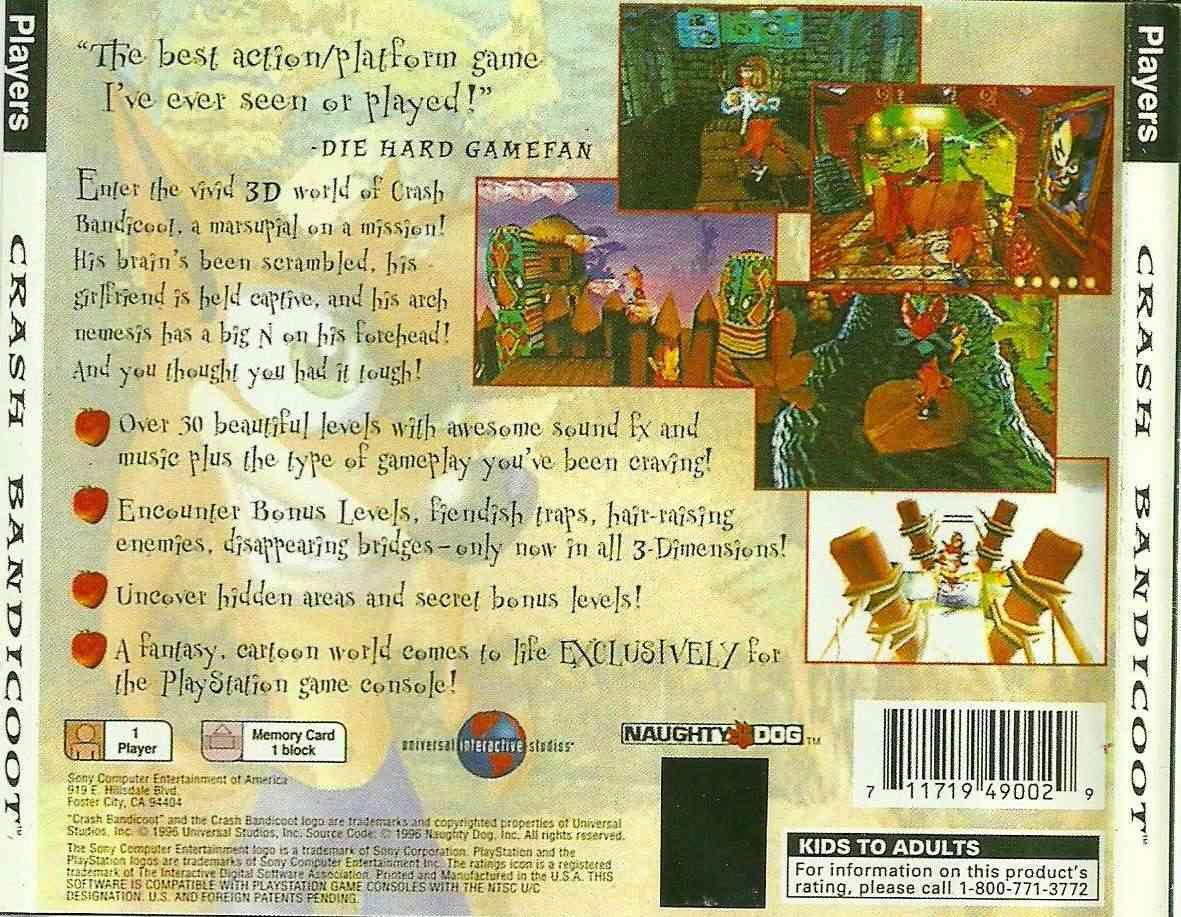 Crash Bandicoot (NTSC/U) Traser16