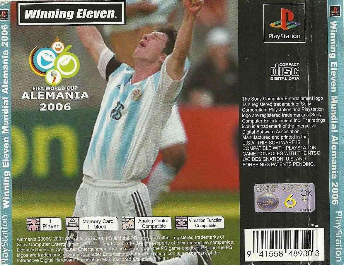 Winning Eleven FIFA World Cup Alemania 2006 (NTSC/J) Traser17