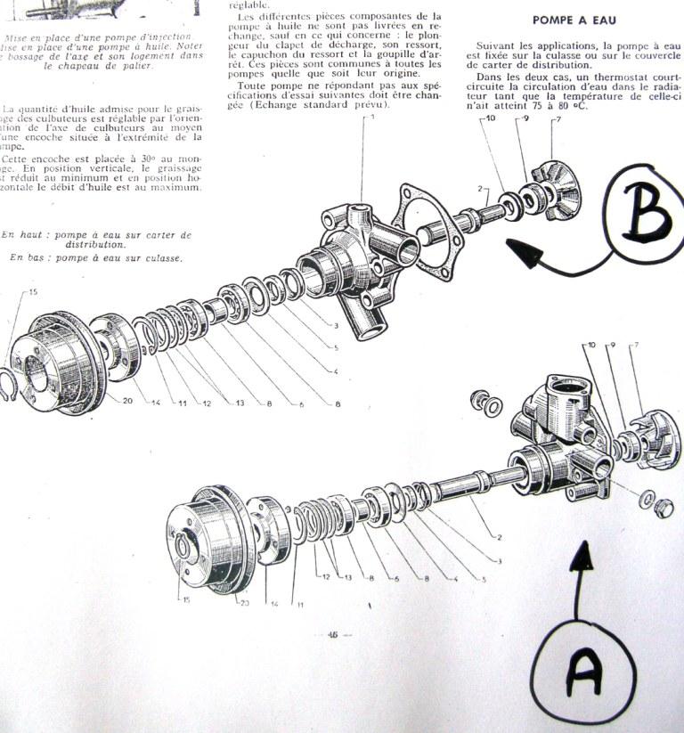 pompe à eau moteur perkins 4192 Pompe_10