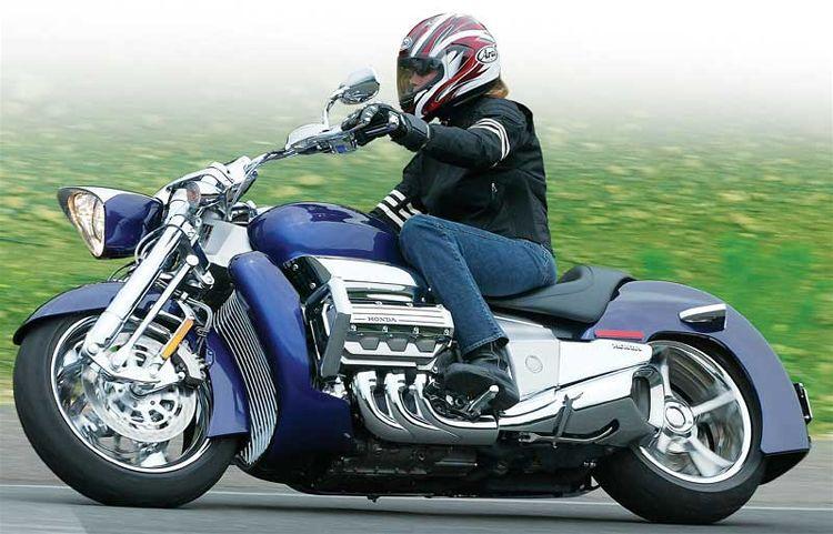 Moto de tous les superlatifs : Honda Rune Xl200410