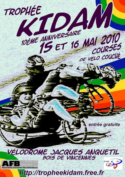 Le Trophée KIDAM 2010, les 15 et 16 mai au Vélodrome Jacques Anquetil Demi_a10