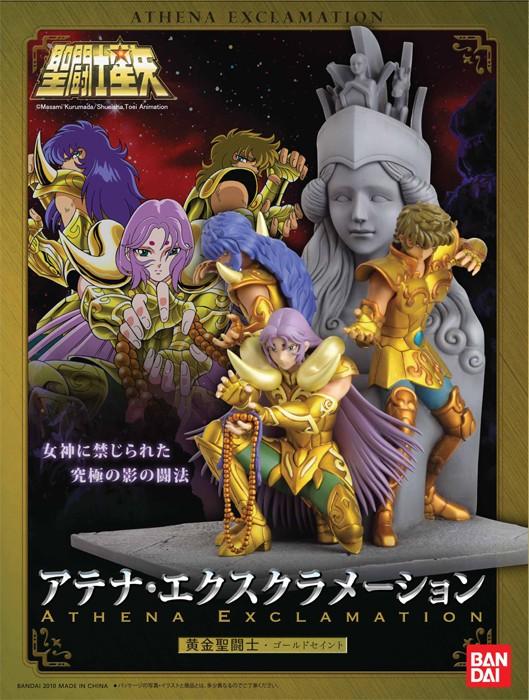 Statue Résine Saint Seiya: Athena Exclamation Attack Banabo10