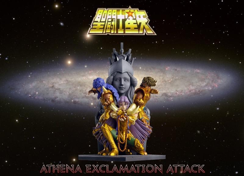 Statue Résine Saint Seiya: Athena Exclamation Attack Banabo11