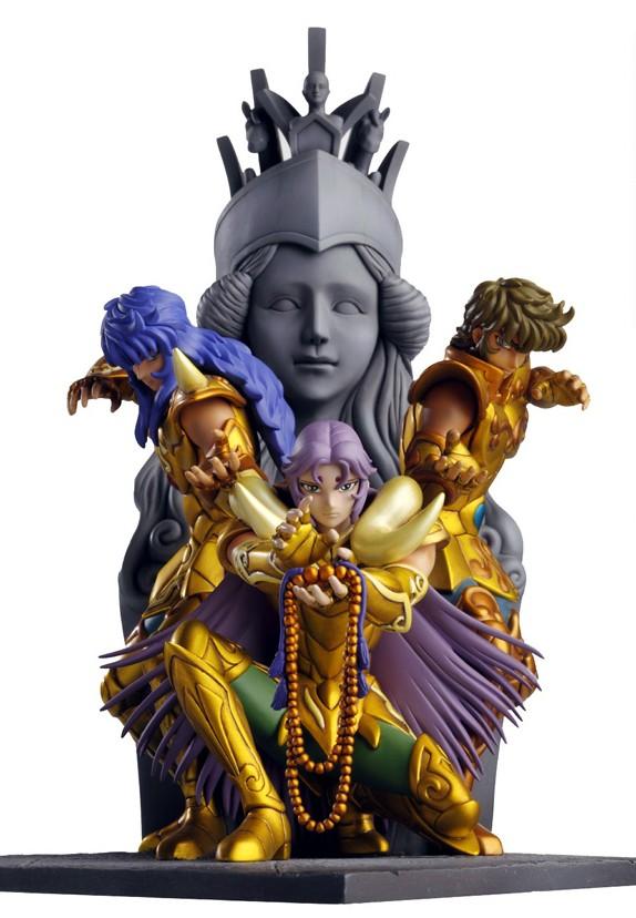 Statue Résine Saint Seiya: Athena Exclamation Attack Banabo12