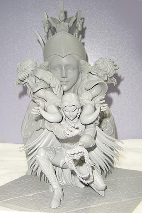 Statue Résine Saint Seiya: Athena Exclamation Attack Tixyuu10