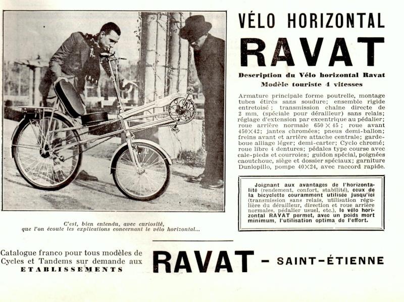 Résister au Vélo Horizontal, oui mais avec quels arguments ? - Page 5 Ravat10