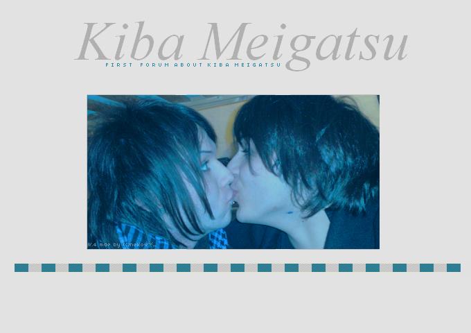 Kiba Meigatsu, First Forum