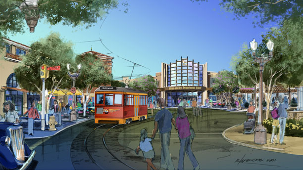 [Disney California Adventure] Placemaking: Pixar Pier, Buena Vista Street, Hollywood Land, Condor Flats Buenav11